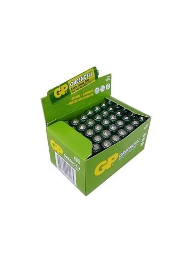 GP Gp Greencell İnce Kalem Pil 1 Kutu(40 Ad) Toptan R03, Lr03 Aaa Renksiz